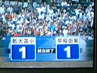 〔夏の甲子園2006〕88回目の夏はまだ終わらない